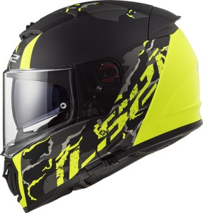 FF390 Breaker FELINE MATT BLACK HI-VIS YELLOW