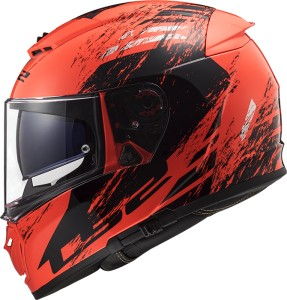 FF390 Breaker SWAT FLUO ORANGE BLACK gloss