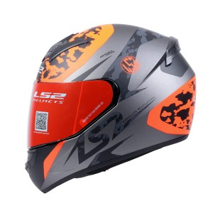FF352 AIRFLOW MATT TITANIUM ORANGE FLUORECENT