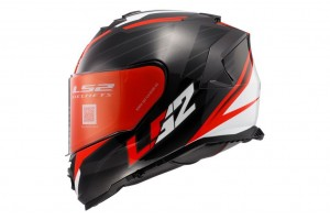 FF800 STORM NERVE BLACK RED GLOSS