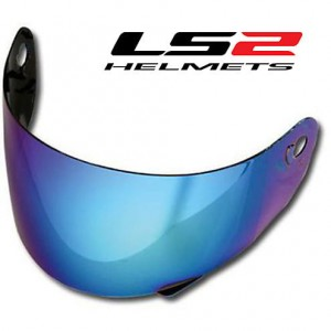 Iridium blue Visor  for FF352 and FF391
