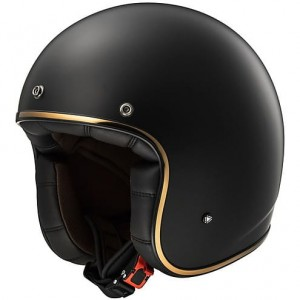OF583 BOBBER SOLID GOLD MATT BLACK