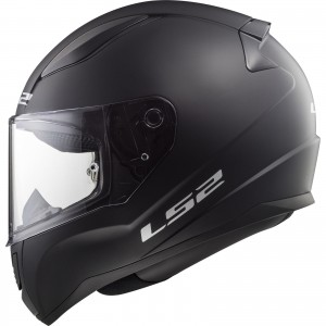 FF353 RAPID SOLID MATT BLACK WITH ANTI FOG VISOR