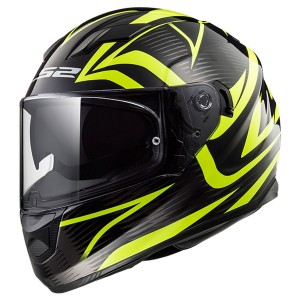 FF328 STREAM EVO JYNK MATT BLACK H-V YELLOW WITH ANTIFOG VISOR