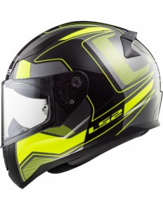 FF353 RAPID CARRERA MATT BLACK H-V YELLOW WITH ANTIFOG VISOR