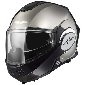 Valiant FF399 Single Mono Convertible Helmet Gloss Chrome