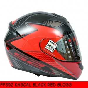 FF352 KASCAL BLACK RED GLOSS